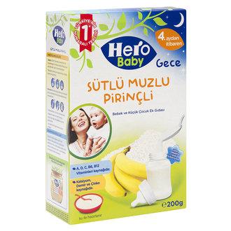 Hero Baby Sütlü Muzlu Pirinçli Ek Besin 200 G