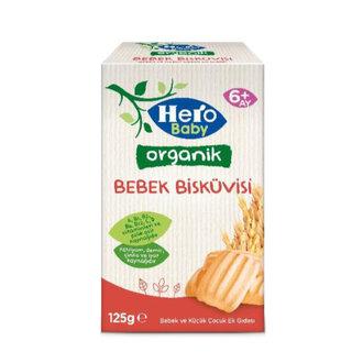 Hero Baby Organik Bebek Bisküvisi 125 G