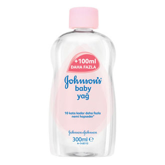 Johnson's Bebek Yağı 300 Ml