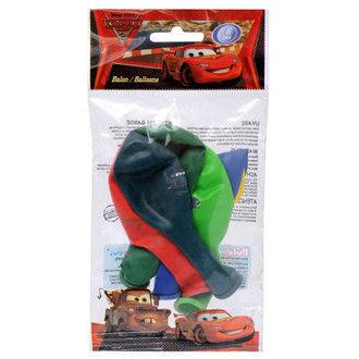 Cars 2 Poşet İçi 6'Lı Balon