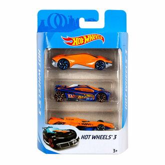 Hotwheels Üçlü Araba Setı