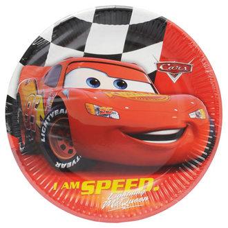 The Cars Super Kağıt Tabak