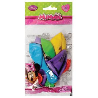Minnie Poşet İçi 6'Lı Balon