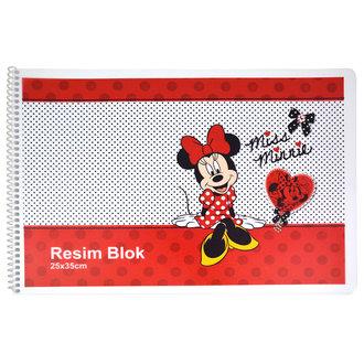Minnie Mouse 25X35 Cm Pp Resim Blok