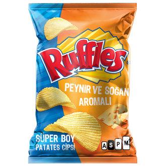 Ruffles Max Peynir & Soğan Patates Cipsi Süper Boy 107 G