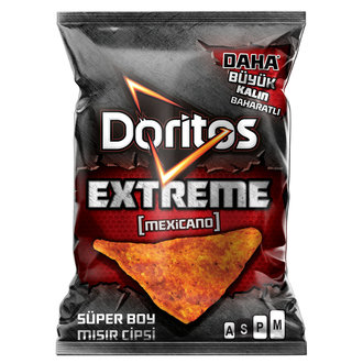Doritos Extreme Mısır Cipsi Süper Boy 113 G