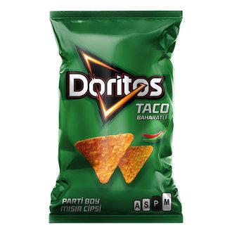 Doritos Taco Mısır Cipsi Parti Boy 169 G