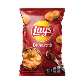 Lay's Baharat Patates Cipsi Süper Boy 107 G