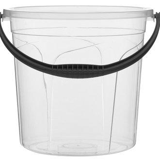 Leva  Şeffaf Su Kovası 19,5 L