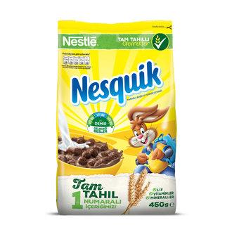 Nesquik Çikolatalı Kahvaltılık Gevrek 450 G