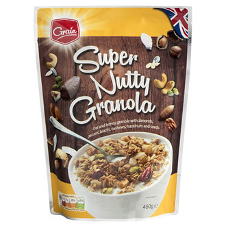 Grain Super Nutty Granola 450 G