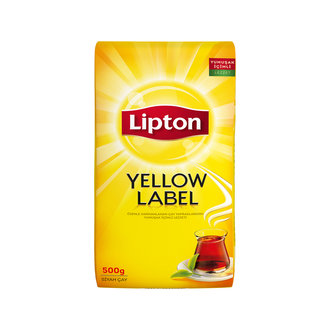 Lipton Yellow Label Dökme Çay 500 G