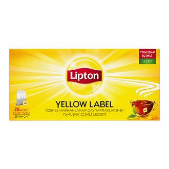 Lipton Bardak Poşet Çay Yellow Label 25'Li