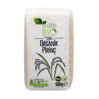 M Life Organik Pirinç 1000 G