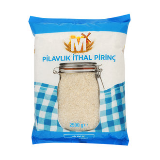 Migros Pilavlık İthal Pirinç 2500 G