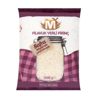 Migros Pilavlık Pirinç 2.5 Kg Bafra Bölge Mahsülü