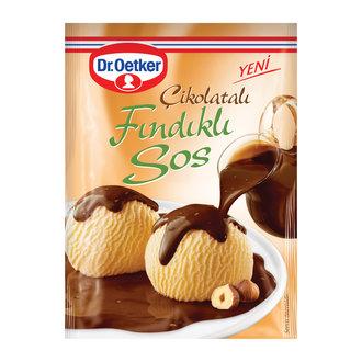 Dr.Oetker Tatlı Sos Çikolatalı Fındıklı 130 G