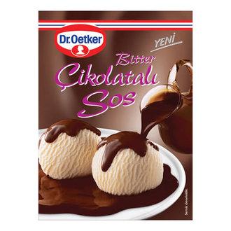 Dr.Oetker Bitter Çikolatalı Sos 125 G