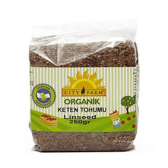 Cityfarm Organik Keten Tohumu 250 G