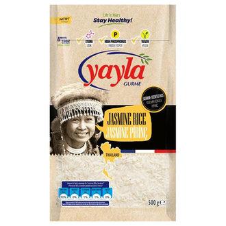 Yayla Gurme Jasmine Pirinç 500 G