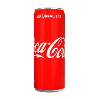 Coca-Cola Kutu 330 Ml