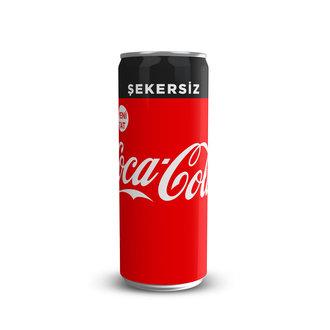 Coca-Cola Şekersiz 330 Ml