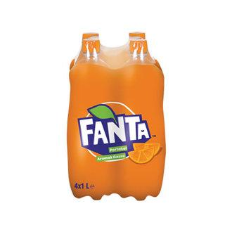Fanta Portakal Aromalı Gazoz 4X1 L