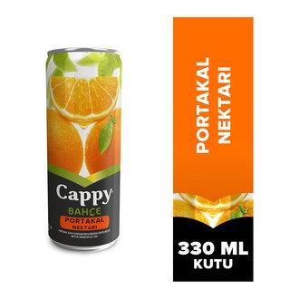 Cappy Bahçe Portakal Nektarı Kutu 330 ML