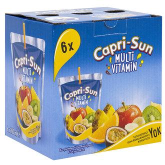 Capri-Sun Mystic Dragon Karışık Meyveli İçecek 6x200 Ml
