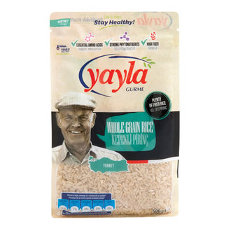 Yayla Gurme Kepekli Pirinç 500 G
