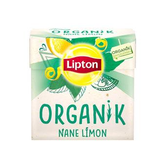 Lipton Organik Nane-Limon Bitki Çayı 20'li 40 G