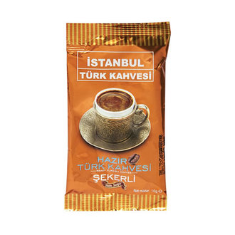 İstanbul Hazır Türk Kahvesi Şekerli 10 G