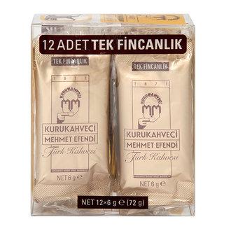 Kurukahveci Mehmet Efendi Türk Kahvesi 12X6 G