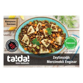 Tada Zeytinyağlı Mercimekli Enginar 200 G