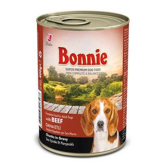 Bonnie Köpek Konservesi Sığır Etli 385 G