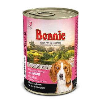 Bonnie Köpek Konservesi Ezme Kuzu Etli 385 G