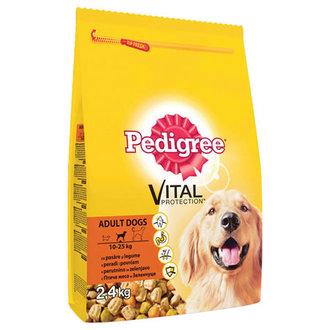 Pedigree Tavuk + Pirinç Kuru Köpek Maması 2,4 Kg
