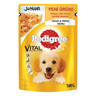 Pedigree Yavru Köpekler Tavuklu Pirinçli 100 G