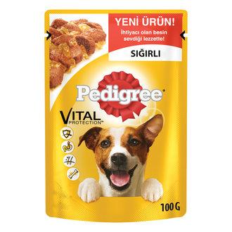 Pedigree Yetişkin Köpekler İçin Biftekli 100 G