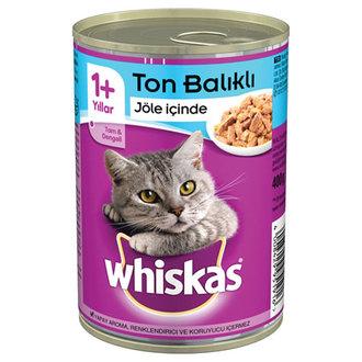 Whiskas Sardalya Ve Ton Balıklı Konserve Kedi Maması 400 G
