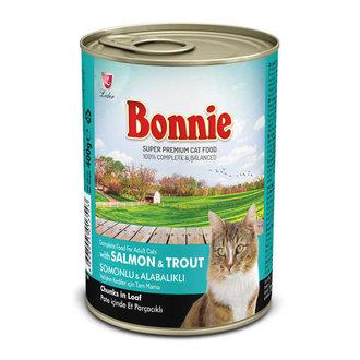 Bonnie Tavuklu - Okyanus Balıklı Kedi Konservesi 385 G