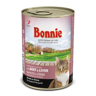 Bonnie Sığır - Böbrekli Kedi Konservesi 385 G