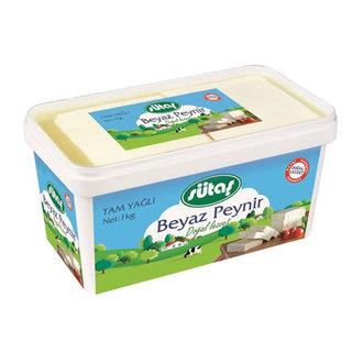 Sütaş Tam Yağlı Beyaz Peynir 1000 G
