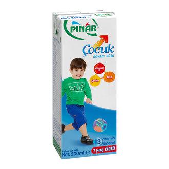 Pınar Çocuk Devam Sütü 200 Ml