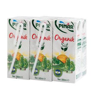 Pınar Organik Süt 6X200 Ml