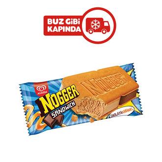 Algida Nogger Sandwich Karamel Kakao 145 Ml