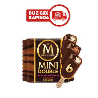 Magnum Mini Double Çikolata-Karadut&Böğürtlen-Karamel 6'lı