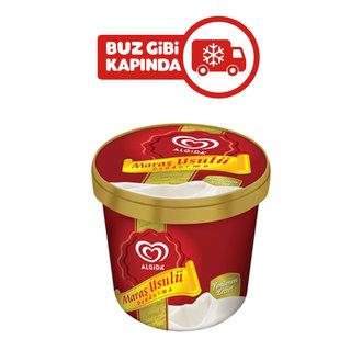 Algida Maraş Usulü Sade Kap Dondurma 105 Ml