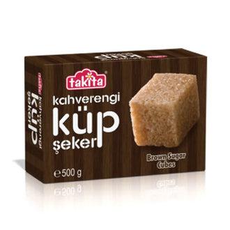 Takita Kahverengi Küp Şeker 500 G