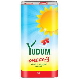 Yudum Omega 3 Ayçiçek Yağı 5 L